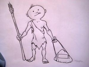 VSS Caveman Drawing